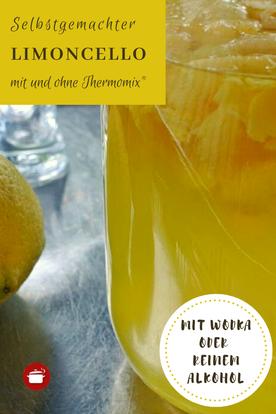 Limoncello selbst machen #likör #zitronenschale #limoncello #orgaBine