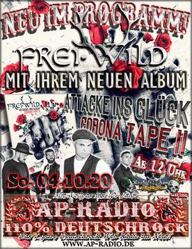 Frei.Wild bei AP-Radio - 110% Deutschrock