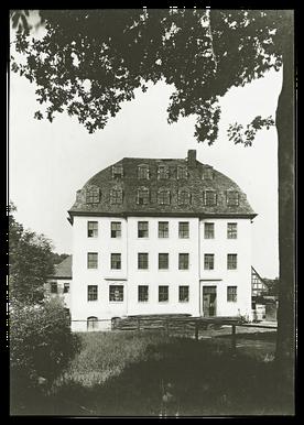 Die kleiner Schnabelsche Spinnerei von 1812 Quelle: Verlag Heimatland Sachsen