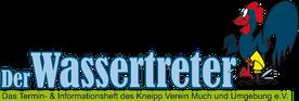 Der Wassertreter - Das Termin- & Informationsheft des Kneipp Verein Much und Umgebung e.V.