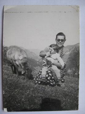 Lina e Paola, foto d'epoca.