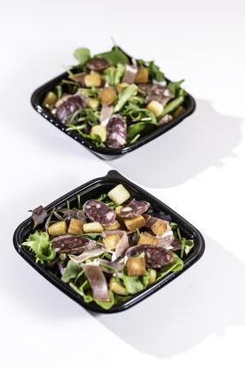 Les salades de Paëlitto