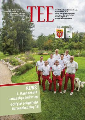 84-seitiges Clubmagazin für den Golfclub Freudenstadt e.V.