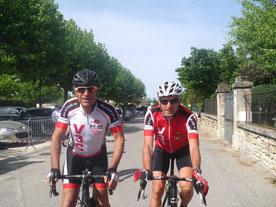 J-Claude et Rémi avant le départ