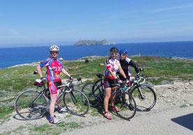 Entre Tollare et Barcaggio avec au fond l'ilot de Giraglia