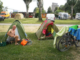 Camping tout confort...