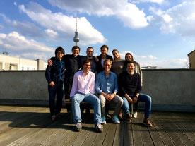 Das Zenjob-Team beim Launch im April