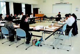 八重山地区健康おきなわ21推進会議が開かれた=23日午後、八重山合同庁舎