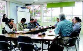 石垣市文化財審議会が開かれた=21日、市教委