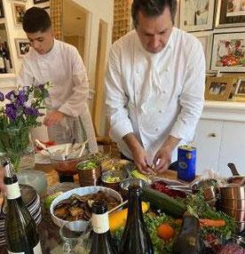 Involuté vins soirée chez Christophe leroy