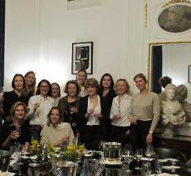 Involuté soirée club de vins féminin