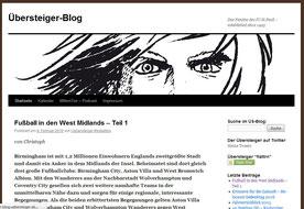Screenshot des Internetblogs Der Übersteiger