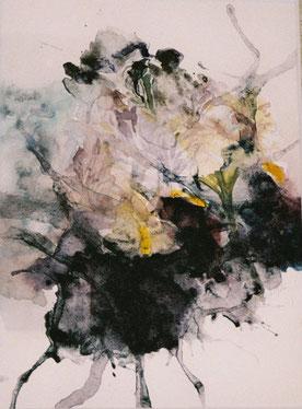 イリス1Iris(Watercolor painting)