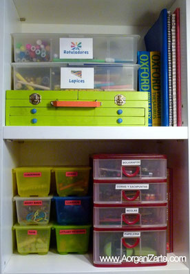 cajas juguetes juegos ordenar niños