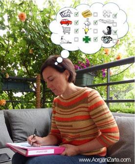 Revisa tu lista de tareas - www.AorganiZarte.com
