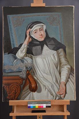 Endzustand Porträt Gräfin Carolina Promnitz