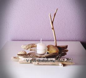 vymcreaciones, vymcreaciones.com, madera de mar, driftwood, driftwood art, decoración ecológica, decoración con palos, madera reciclada