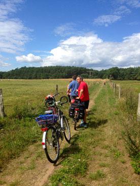 Radeln MV Mecklenburg Rad fahren Radwege