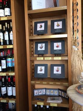 Aromenbilder Rotwein