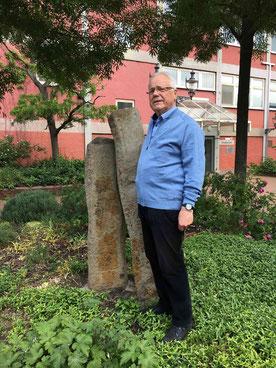 Pater Herman von der Karmelgemeinde in Duisburg. (RP-Foto: Peter Klucken)
