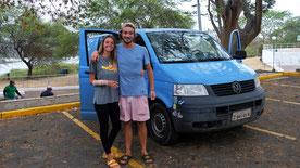 Ladina und Marvin ein junges Schweizer Pärchen auf Südamerika Tour