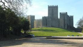 Auf der Burg von Guiamares wurde Portugal geboren.