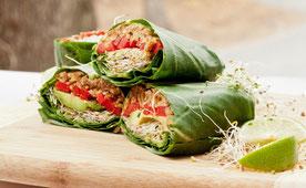 Vegetariano, comida, budista