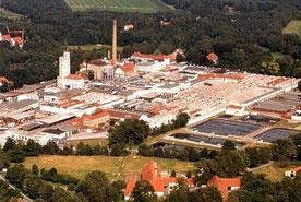 Luftaufnahme der Firma Windel