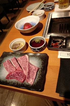 KObe Beef, Rindfleisch, BBQ, Japan, Tokio