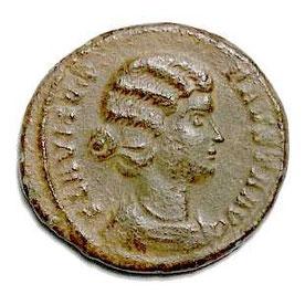 Fausta - Augusta Kaiser Konstantins 326