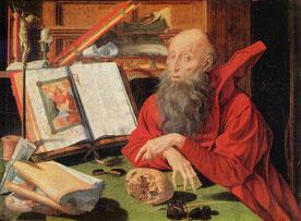 Hieronymus v. Stridon von Marinus Claesz.v. Reymerswaele