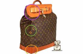 fake bag steamer bag Louis Vuitton secret expert