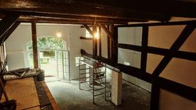 Bauernhaussanierung 2013 mit historischen Bauteilen