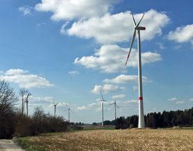 Zubau im Windpark Lauterhofen