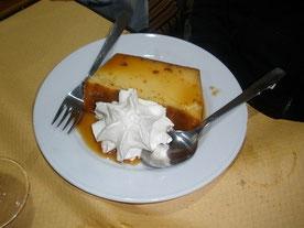 Eierspeisen - Flam Pudding Kuchen