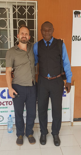 Dr. Simon André Mischel and Monsieur Wangho Rene Job