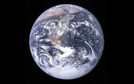 La Tierra fotografiada el 7 de diciembre de 1972 durante la misión Apollo 17. / NASA