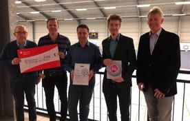 TVD-Vorstand freut sich über die Auszeichnung  (Foto: Lotzkat)