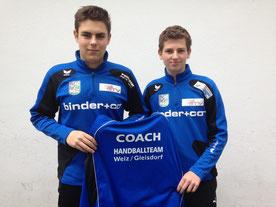 Neue C-Trainer: Julian M. und Patrick Schadl