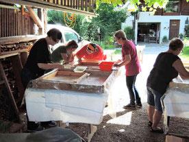 Kurs im Holztechnikum Kuchl
