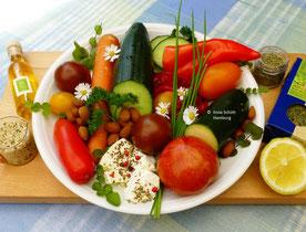 Bunter Salat - www.basenfasten-hamburg.net Ilona M. Schütt