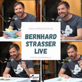 Bernhard Strasser lesung live