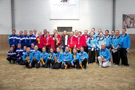 Die Teams Pegasus XII, Pegasus II, Pegasus X und Pegasus XIV
