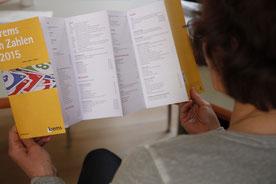 """Der Folder """"Krems in Zahlen 2015"""" liegt ab sofort in der Bürgerservicestelle auf. Foto: zVg"""