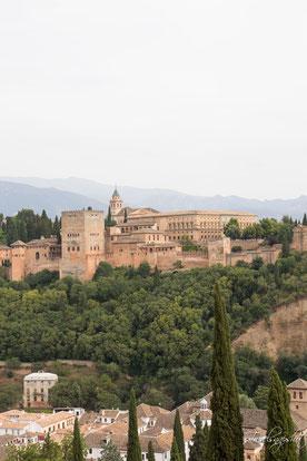 Blick auf Alhambra von St. Nicolas