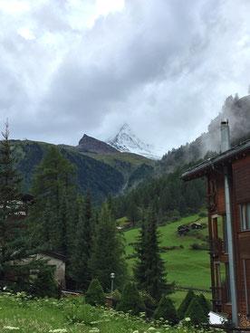 Ein einziger Blick auf's Matterhorn