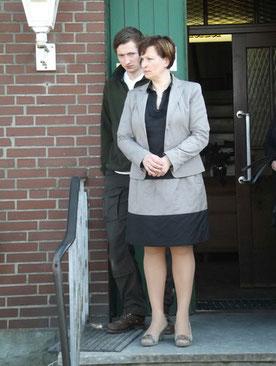 Unsere ehemalige Prüfungsobfrau Pia Schaak, hier mit ihrem Sohn.