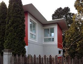 Architekturbüro Silke Hopf Wirth & Toni Wirth Architekten ETH HTL SIA Winterthur,  Neubau Erweiterung Pension Bugatti Winterthur