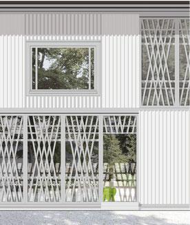 Kita Ausstellungsraum Villa Sträuli Winterthur Wettbewerb