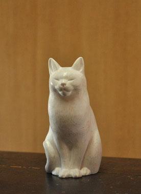 木彫り 猫